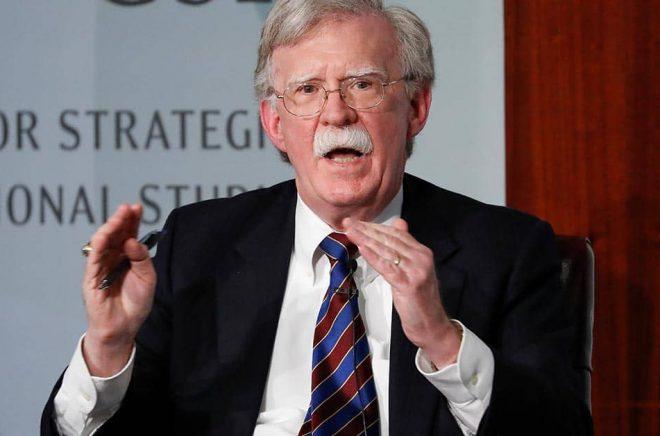 USA:s tidigare nationelle säkerhetsrådgivare John Bolton. Arkivbild: Pablo Martinez Monsivais/AP/TT.