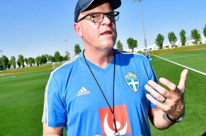 Förbundskapten Janne Andersson lägger ut sina tankar om ledarskap i en bok som ges ut i höst. Arkivbild: Jonas Ekströmer/TT.