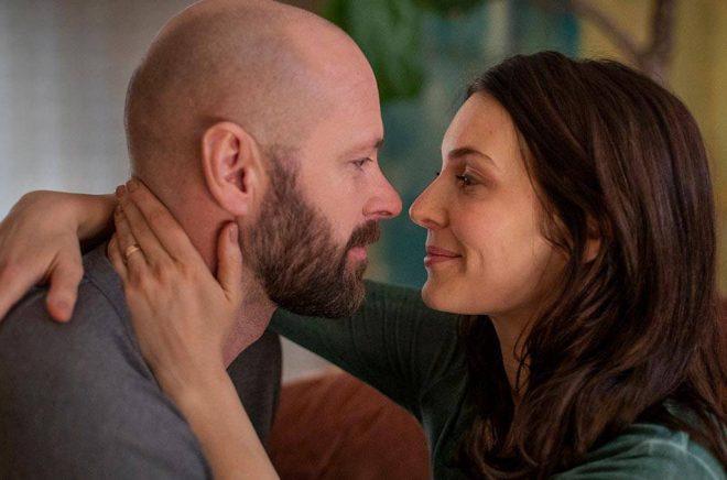 Ulf Stenberg och Aliette Opheim i HBO-serien