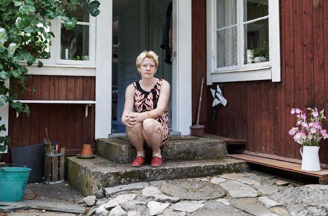 Den norska författaren, dramatikern och regissören Beate Grimsrud blev 57 år gammal. Arkivbild: Daniella Backlund/SvD/TT.