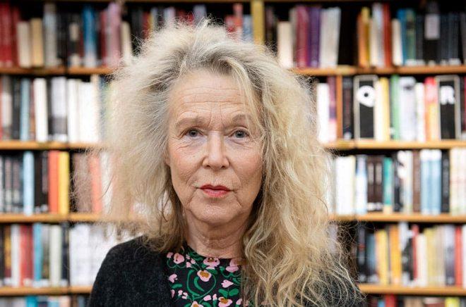 Författarförbundet ordförande Grethe Rottböll. Arkivbild: Henrik Montgomery/TT.