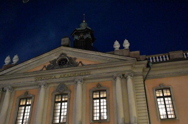 Svenska Akademien kräver en miljon i vite från Nordfront. Arkivbild: Jonas Ekströmer/TT.