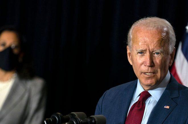 Joe Biden, demokraternas presidentkandidat i USA. Arkivbild: Carolyn Kaster/AP/TT.