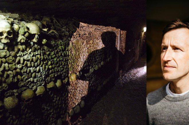 Dygnet i Paris katakomber slutar med en intensiv upplevelse av ljus och liv. Arkivbild: Michel Euler.