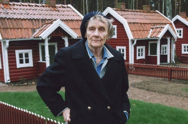 Astrid Lindgren. Arkivbild: TT.