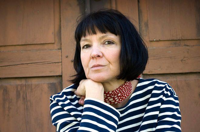 Författaren Anneli Jordahl. Foto: SvD/TT.