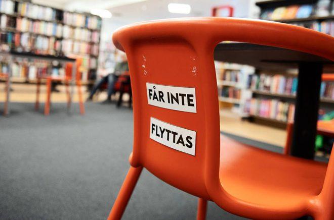 Bråk på bibliotek kan leda till tillträdesförbud.