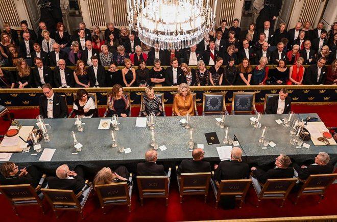 Ytterligare två stolar ska nu fyllas i Svenska Akademien – och valen var väntade, enligt experter. Arkivbild: Jonas Ekströmer/TT.