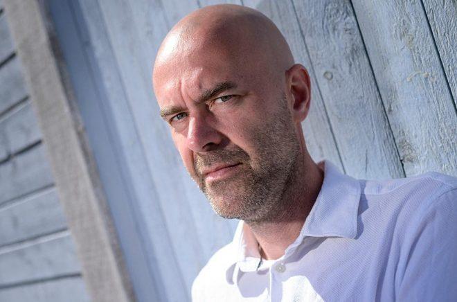 Författaren Patrik Svenssons bok