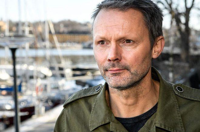 """FLX, där Felix Herngren är en av ägarna, har köpt rättigheterna till författaren Johan Anderbergs kommande bok """"Flocken"""". Arkivbild: Anders Wiklund/TT."""