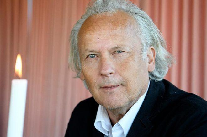 Klas Östergren blir hedersdoktor vid Lunds universitet. Arkivbild: Jessica Gow/TT.