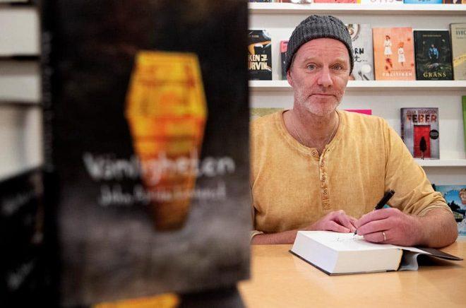 John Ajvide Lindqvist är aktuell med den nya romanen