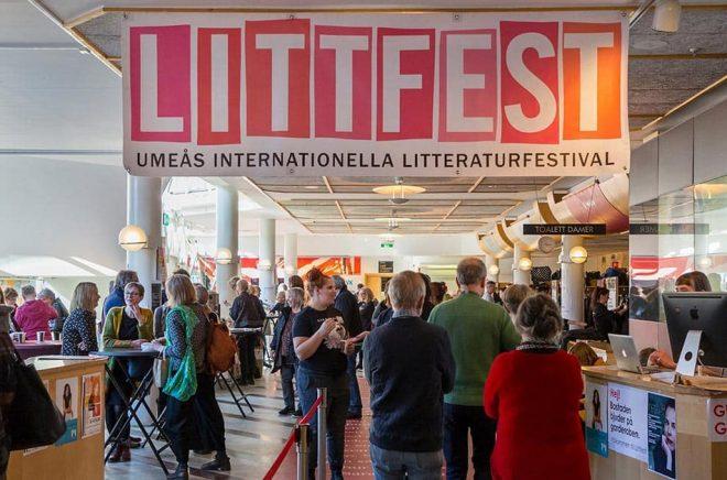 Så här kommer inte Littfest att se ut i år. Arkivbild: Henke Olofsson.