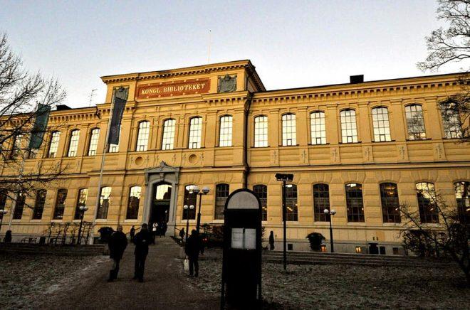 Kungliga bibliotekets omorganisation väcker reaktioner. Arkivbild: Hasse Holmberg / TT.