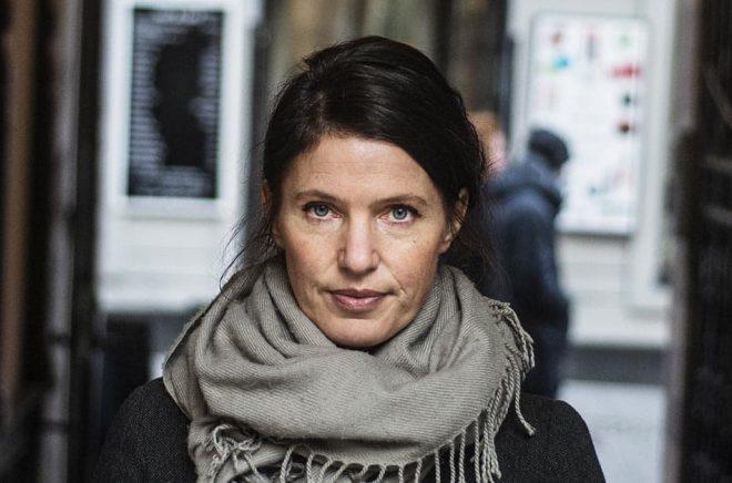 Författaren Kristina Sandberg ny bok