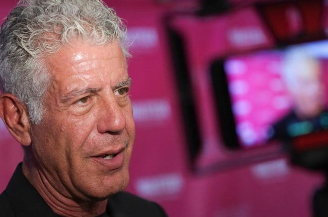 Anthony Bourdain bok tv-serie