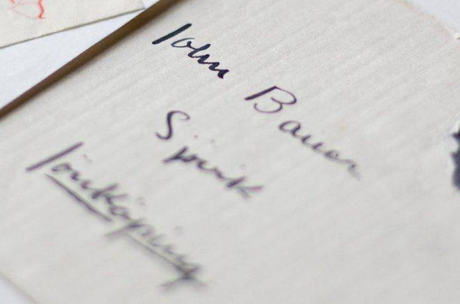 Jönköpings läns museum har nu publicerat 300 brev ur makarna Bauers brevsamling. Pressbild: Sofie Jarl.