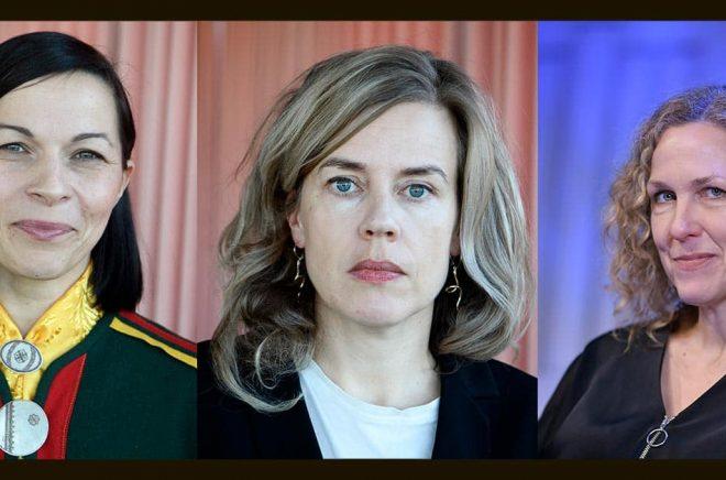 Elin Anna Labba, Annika Norlin och Marit Kapla är några av de som deltar på årets Littfest. Arkivbilder: Pontus Lundahl/Jessica Gow/TT.