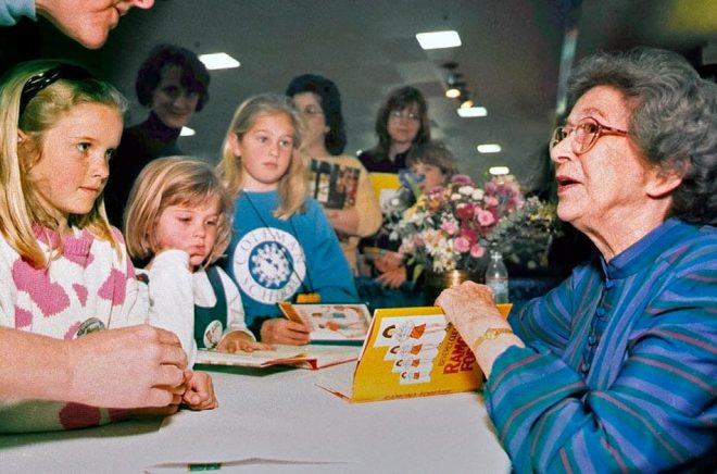 Beverly Cleary var en älskad barnboksförfattare. Arkivbild: Vern Fisher/The Monterey County Herald/AP/TT.
