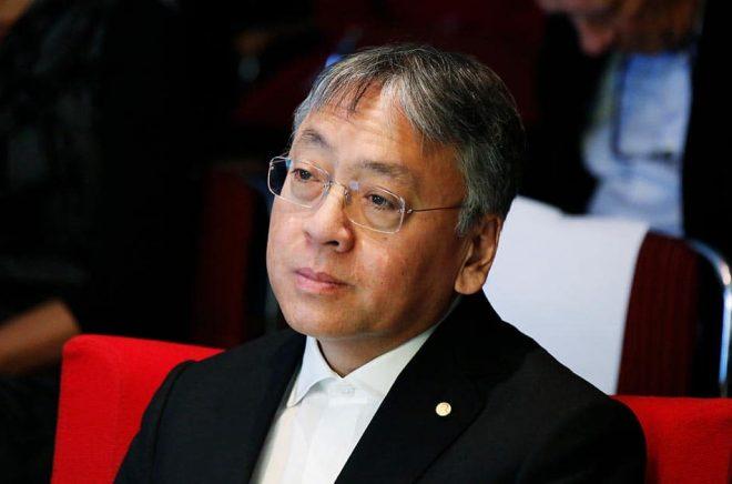 Kazuo Ishiguro är en av dem som firar årets Världsboknatt. Arkivbild: Christine Olsson/TT.