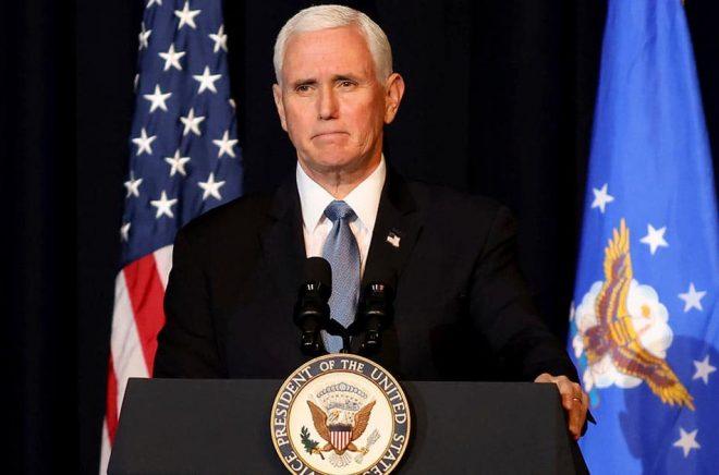 Den tidigare vicepresidenten Mike Pence har tecknat ett lukrativt avtal om att skriva sin självbiografi. Arkivbild: Chris Jackson/AP.