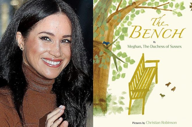 Meghan Markle har skrivit en barnbok inspirerad av hennes make prins Harrys relation till sonen Archie. Foto: Penguin Random House via AP/TT.