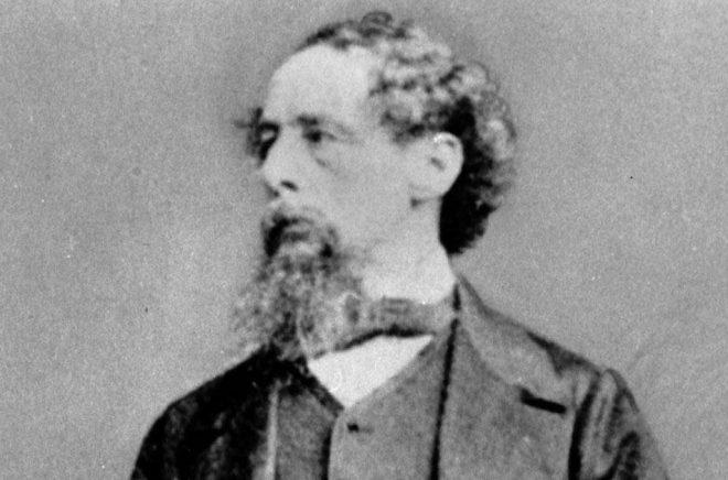 Den brittiske författaren Charles Dickens var mycket fäst vid sin frus syster Mary Hogarth som hastigt avled, 17 år gammal. Arkivbild: AP/TT.