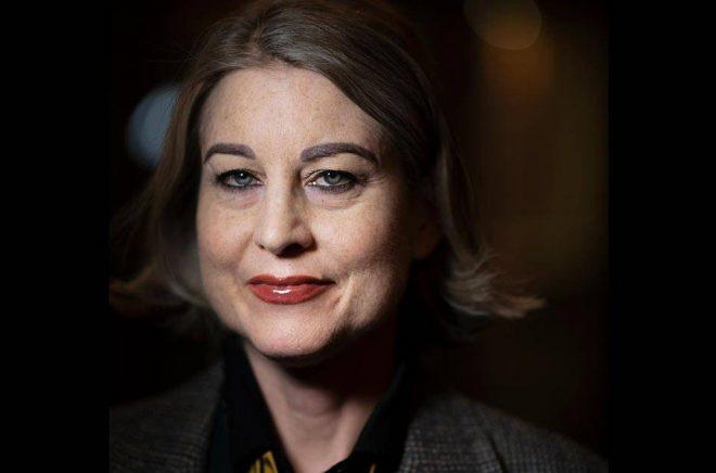 Författaren och krönikören Linda Skugges recension av Kristina Sandbergs nya roman både hyllas och kritiseras bland kollegorna i branschen. Arkivbild: Staffan Löwstedt/SvD/TT.