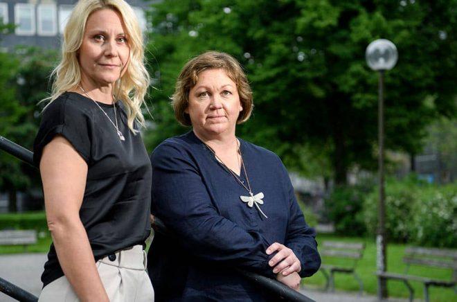 Jennie Lundgren bor i Kalix och Ulrika Lundgren Lindmark i Gällivare. Att de båda bor i glesbygd har varit avgörande för berättelsen, tror de. Huvudpersonen i