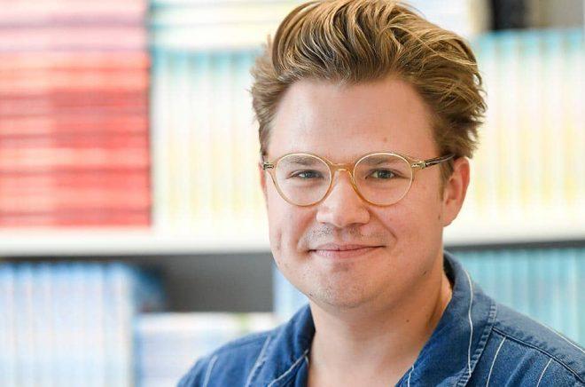 Christoffer Holst, festivalgeneral för Feelgoodfestivalen, som liksom förra året blir ett digitalt evenemang. Arkivbild: Maja Suslin/TT.