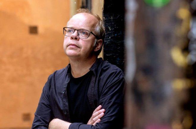 Författaren Magnus Västerbro skriver en bok om Sverige under Karl XII. Foto: Stefan Jerrevång/TT
