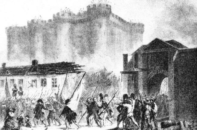 Marquis de Sades originalmanuskript överlevde stormningen av Bastiljen 1789. Foto: okänd / TT