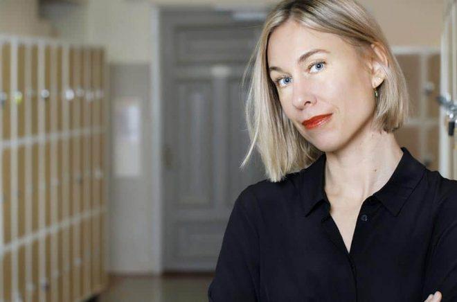 Karin Wik debuterade med spänningsromanen