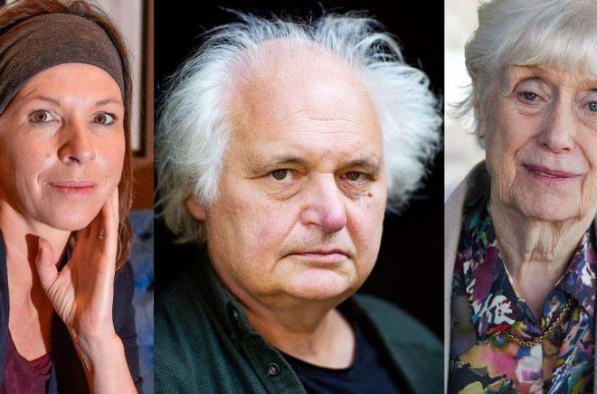 Rachel Cusk, Göran Greider och Kerstin Ekman är några av de författare som ger ut nya böcker i höst. Foto: Jonas Ekströmer, Emma-Sofia Olsson / SvD, Fredrik Persson / TT