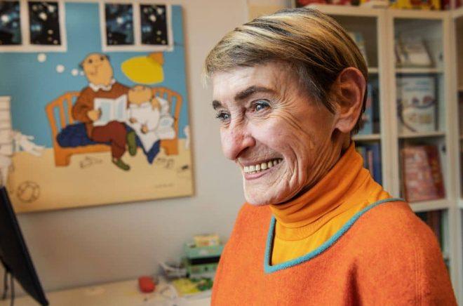 Gunilla Bergström, barnboksförfattare och illustratör. Foto: Lars Pehrson / SvD / TT