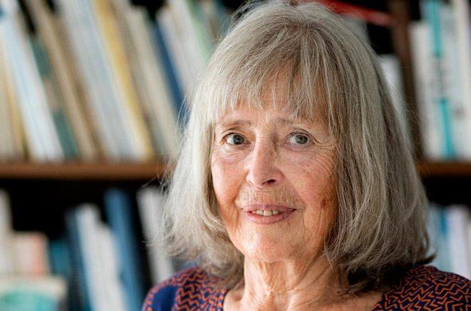 """Agneta Pleijel, som skrivit förordet till nyutgåvan av Bengt Anderbergs roman """"Amorina"""", är bestört över beskedet att Albert Bonniers förlag nu stoppar utgivningen. Arkivbild: Pontus Lundahl/TT."""