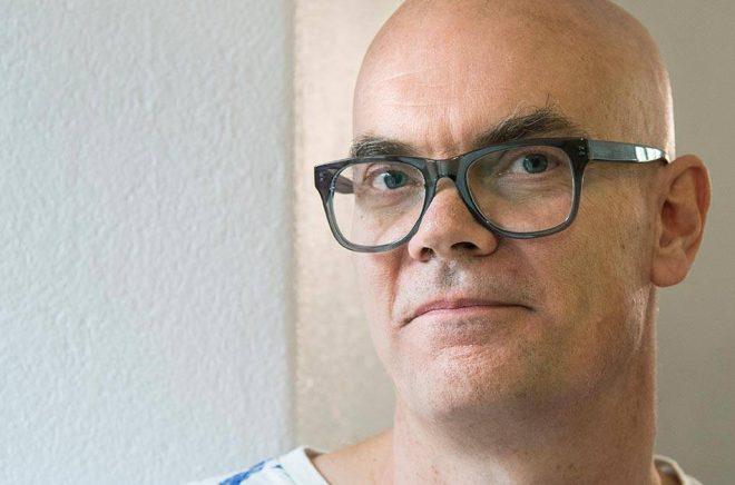 Poeten Jörgen Gassilewski får årets Erik Lindegren-pris. Arkivbild: Claudio Bresciani/TT.