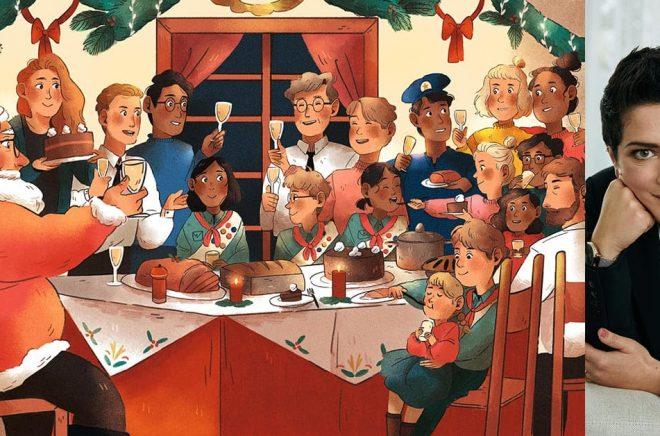 Julen kan påminna oss om hur det är att leva i en gemenskap, menar Francesca Cavallo (foto: Max Cardelli), som har skrivit boken