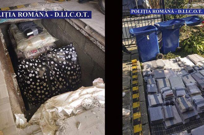 Fotot från den rumänska polisen visar hur stöldligan gömt cirka 200 sällsynta och värdefulla böcker som stals i London 2017. Arkivbild: AP/TT.