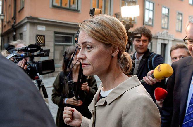Jayne Svenungsson lämnar Svenska Akademien efter knappt ett år, vilket tyder på att krisen inte är löst. Arkivfoto: Janerik Henriksson/TT