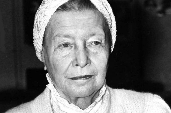 Simone de Beauvoirs brev har sålts. Arkivbild: AP/TT.