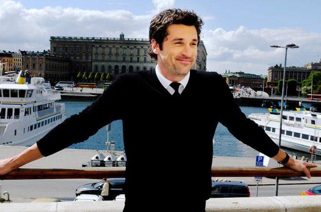 Skådespelaren Patrick Dempsey på ett besök i Sverige 2008. Arkivbild: Jurek Holzer/SvD/TT.