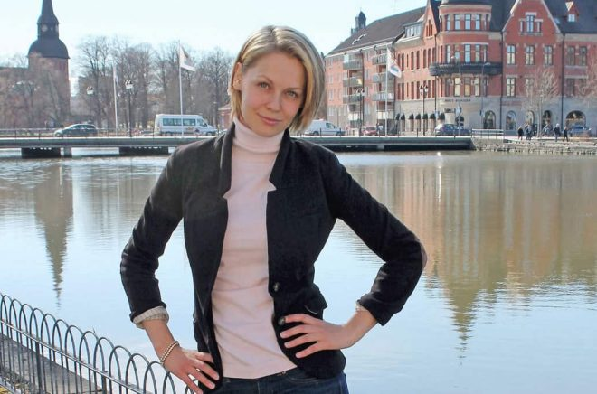 Tanja Matila, författare till Veterinär Vims – Valarnas hjälte.