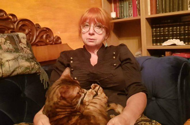 Tanya Perskaya, konstnär och författare. Foto: © Anna Wisén