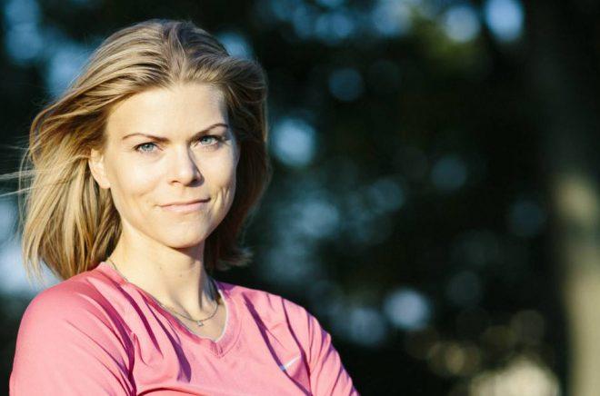 Terese Alvén, författare och träningsprofil. Foto: Jane Haglund