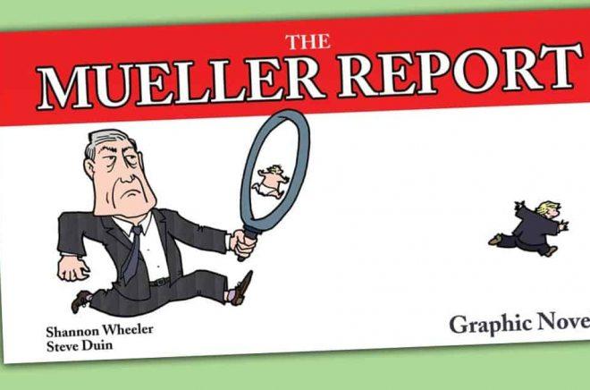 The Mueller Report har getts ut i många versioner - men nästa år kommer en speciell variant: som tecknad serie.