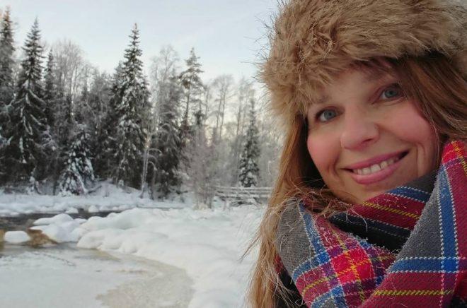 Författaren Therese Henriksson.