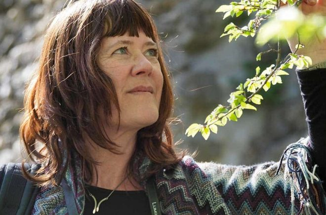 Författaren Tina K Persson.