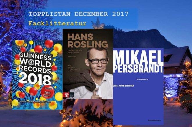 De 20 mest sålda fackböckerna i december 2017. Bakgrundsbild: Fotolia. Montage: Boktugg.