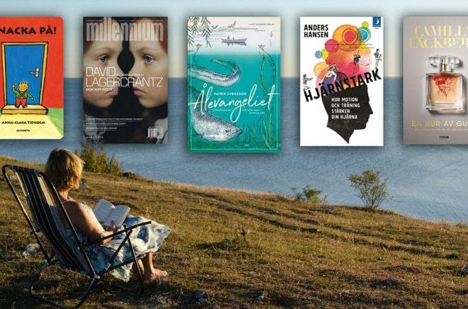 Topplistorna över årets mest sålda böcker under 2019 inkluderar titlar som Knacka på, Hon som måste dö, Ålevangeliet, Hjärnstark och En bur av guld. Bakgrundsfoto: iStock.